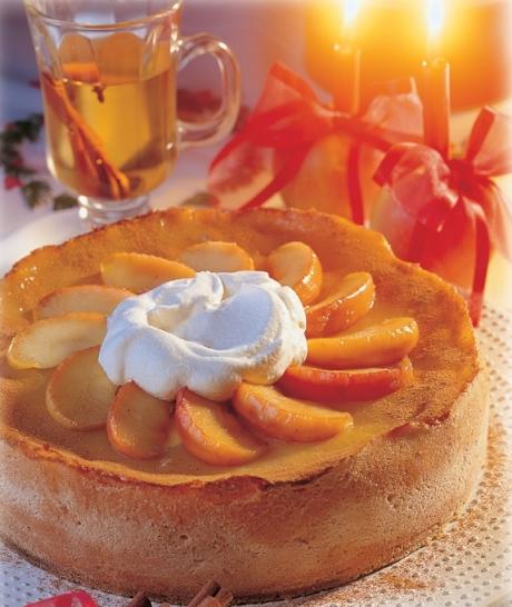 Bratapfel-Glühmost-Torte