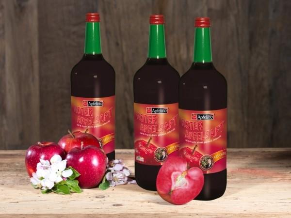 Roter Apfelsaft 1 l