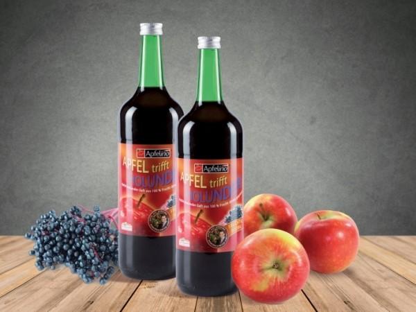 Apfel-Holundersaft 1 l