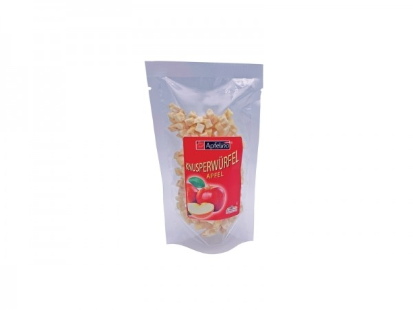 Knusperwürfel Apfel 25 g