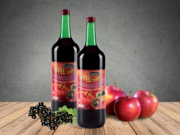 Apfel-Johannisbeersaft 1 l