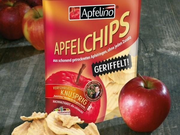Apfelchips geriffelt 50 g