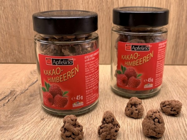 Kakao-Himbeeren 45 g