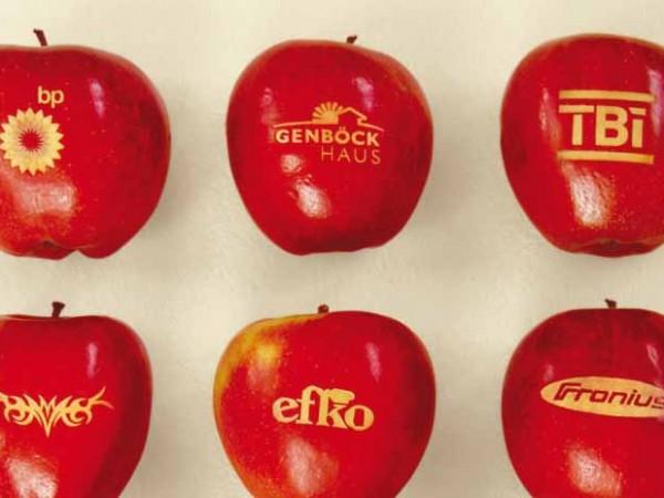 Logo-Äpfel