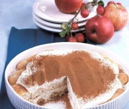 Apfel-Tiramisu