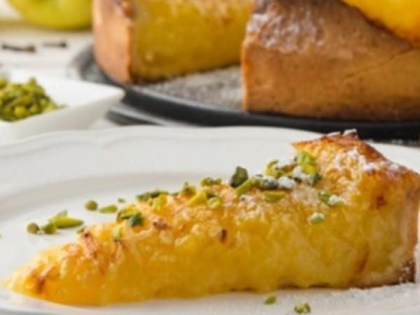 Apfel-Torte mit Frizzante